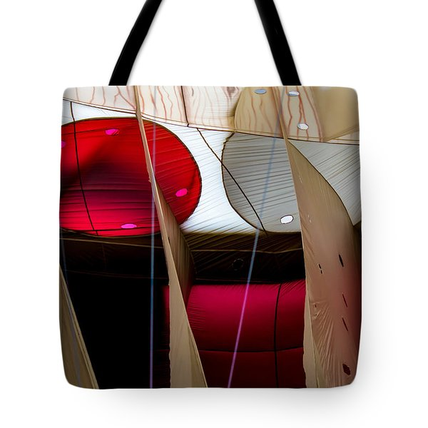 Circles Within Circles - Inside A Hot Air Balloon Tote Bag