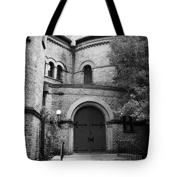 Circular Church Of Charleston Sc Tote Bag