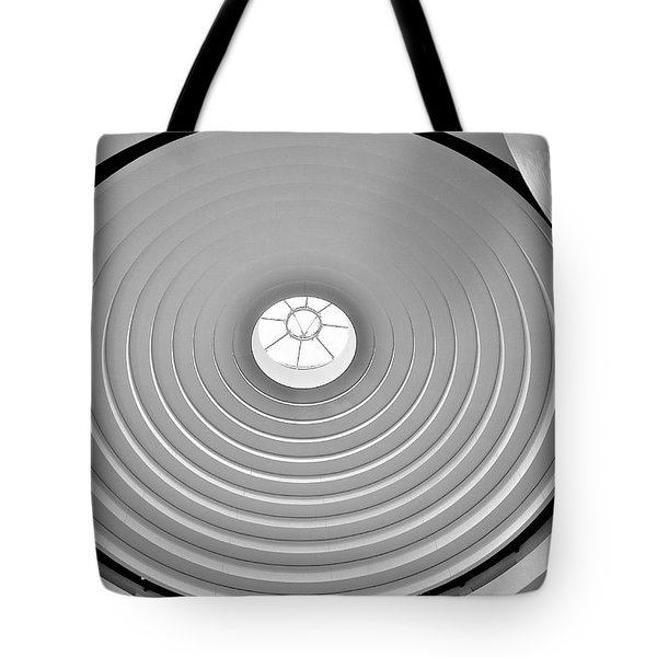 Circular Dome Tote Bag