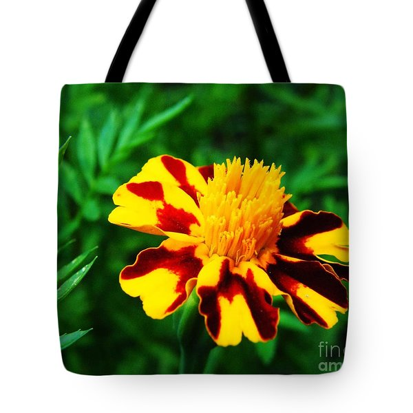 Circus Circus Marigold Tote Bag by Lizi Beard-Ward