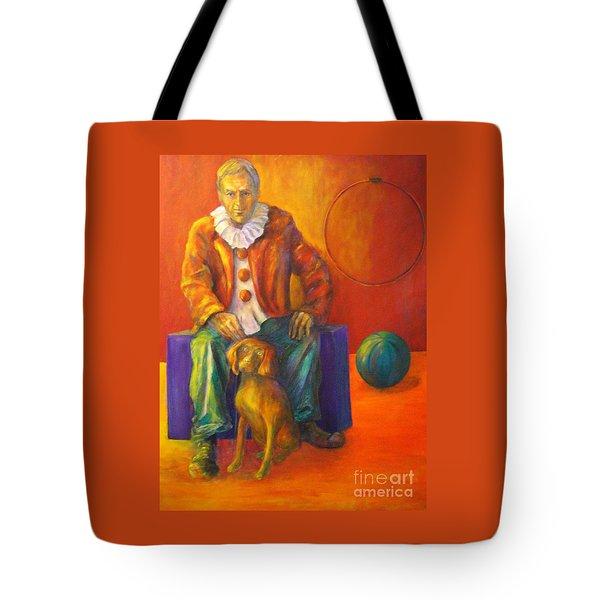 Circus Tote Bag by Dagmar Helbig
