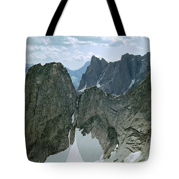 209615-cirque Of Towers, Wind Rivers, Wy Tote Bag