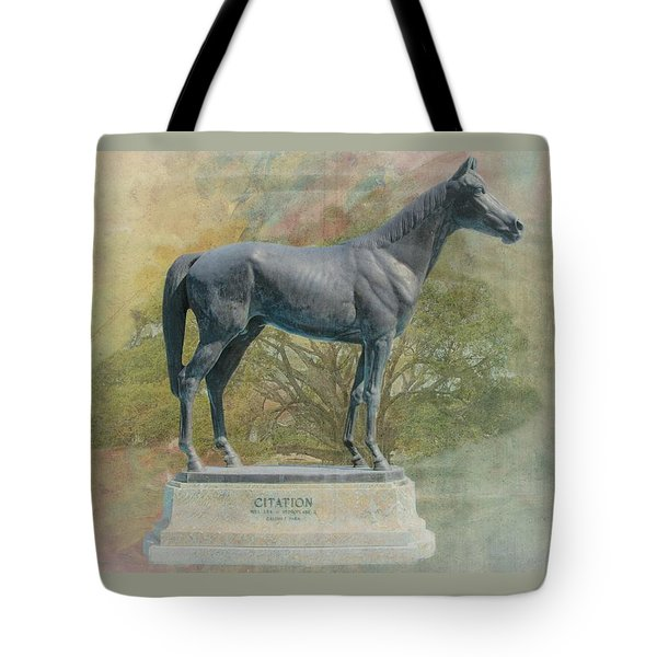 Citation Thoroughbred Tote Bag