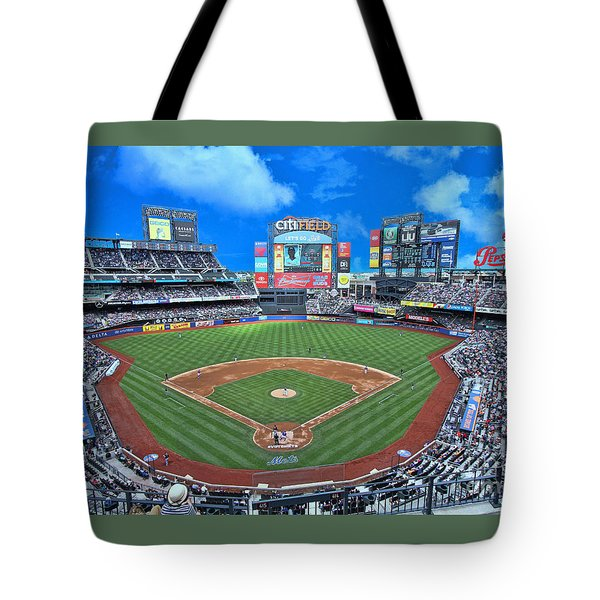 Citi Field Tote Bag by Allen Beatty