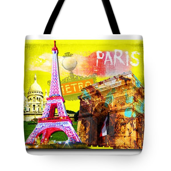 Cities Tote Bag
