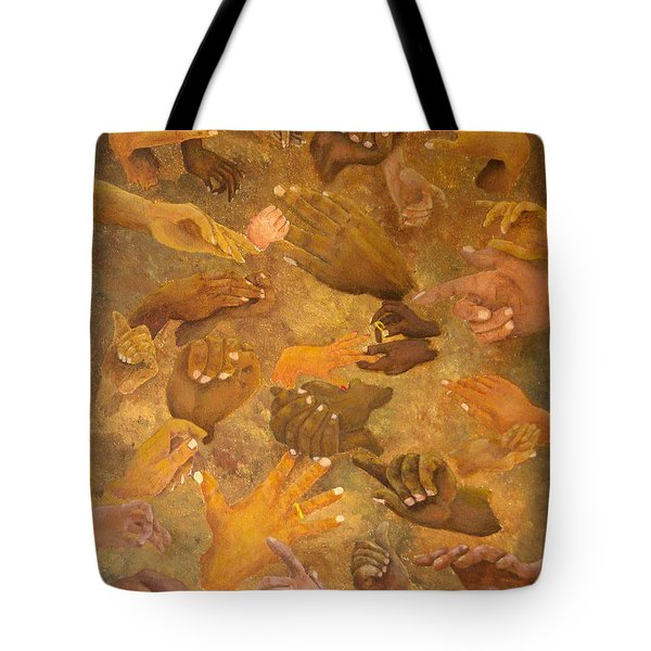 Citizens Of Earth Tote Bag by Pamela Allegretto