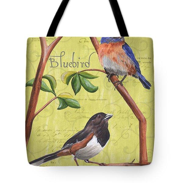 Citron Songbirds 1 Tote Bag