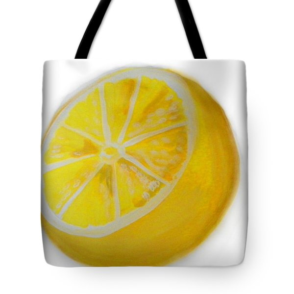 Citrus Tote Bag by Marisela Mungia