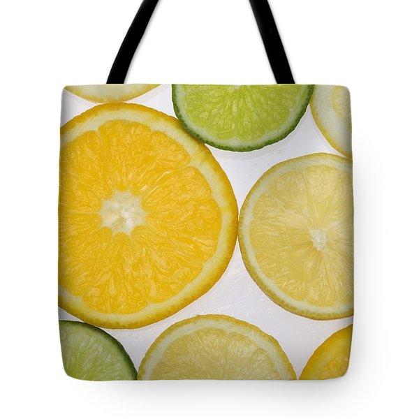 Citrus Slices Tote Bag by Kelly Redinger