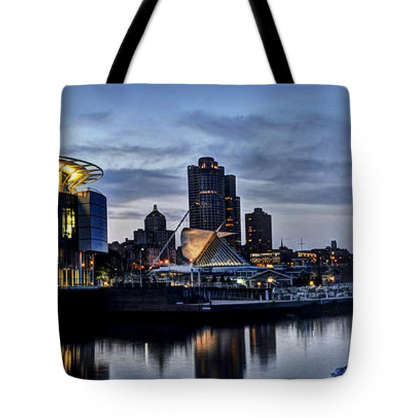 City At A Glance Tote Bag by Deborah Klubertanz