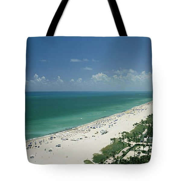 City At The Beachfront, South Beach Tote Bag