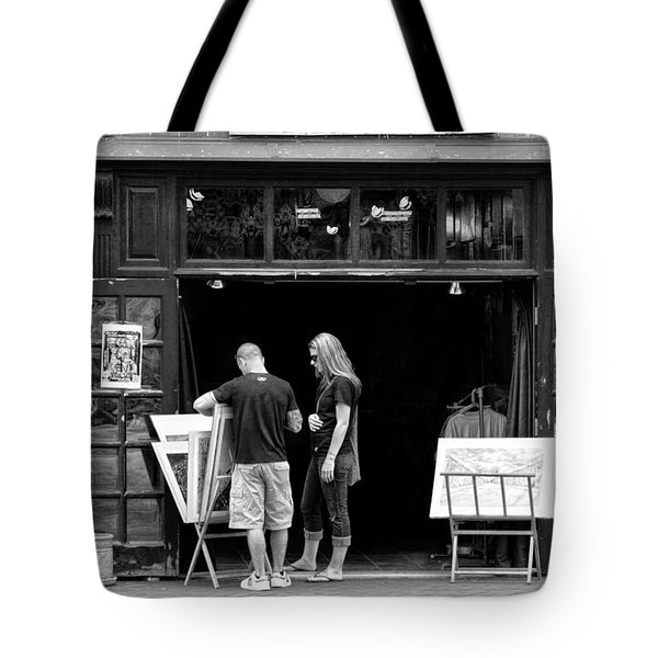 City - Baltimore Md - Tag Galleries  Tote Bag by Mike Savad