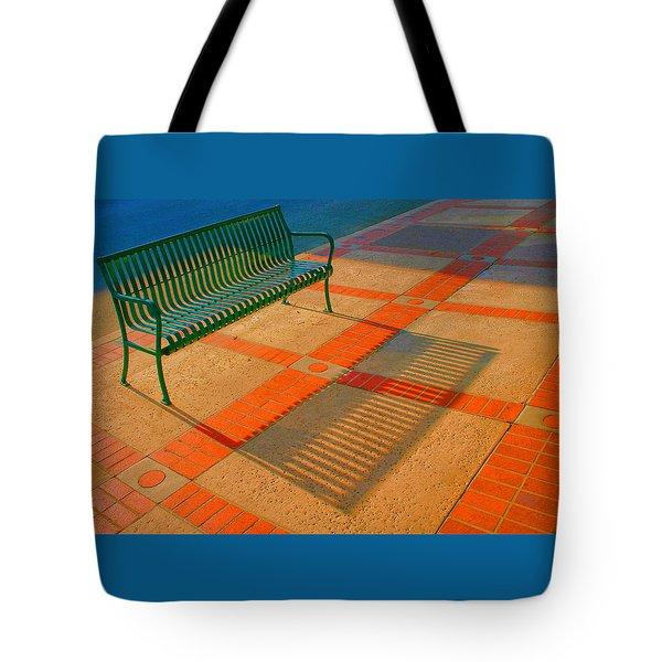 City Bench Still Life Tote Bag by Ben and Raisa Gertsberg