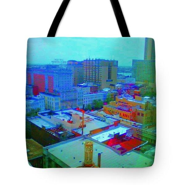 City Blues II Tote Bag