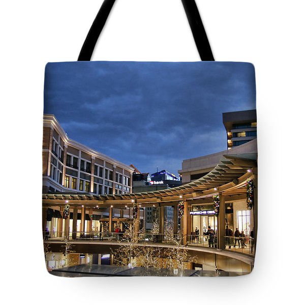 Tote Bag featuring the photograph City Creek by Ely Arsha