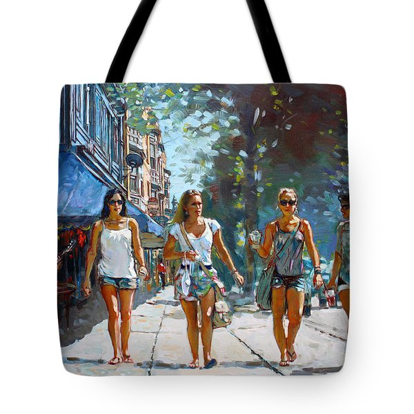 City Girls Tote Bag by Ylli Haruni