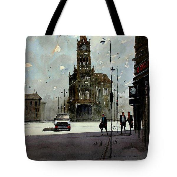 City Hall - Milwaukee Tote Bag by Ryan Radke