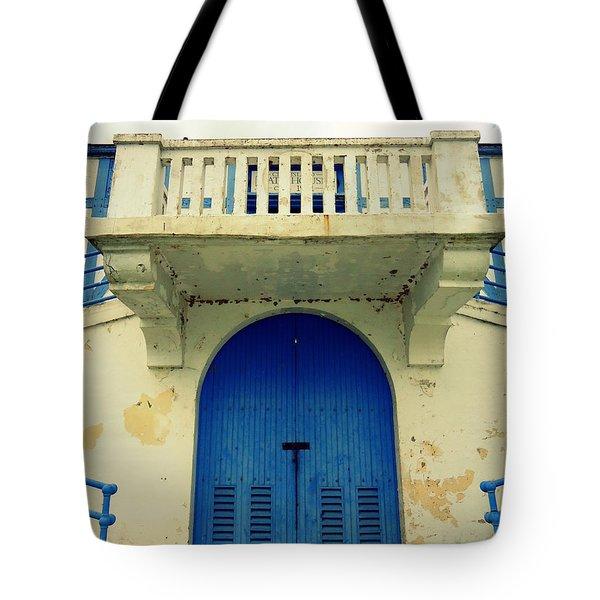 City Island Bath House Tote Bag