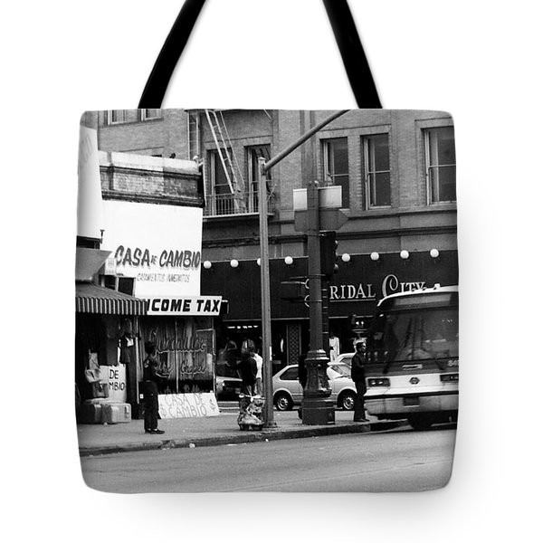City Life Tote Bag by Karl Rose