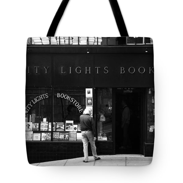 City Lights Bookstore - San Francisco Tote Bag