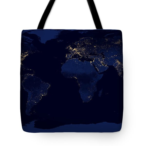 City Lights - Earth Tote Bag