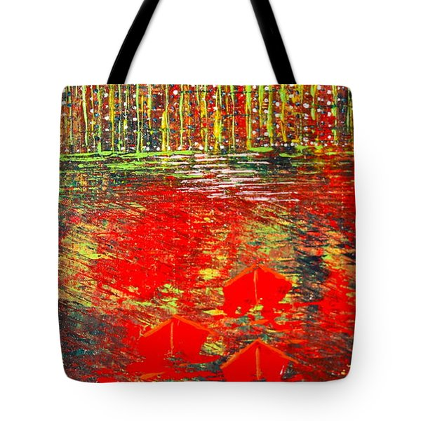 City Lights - Sold Tote Bag