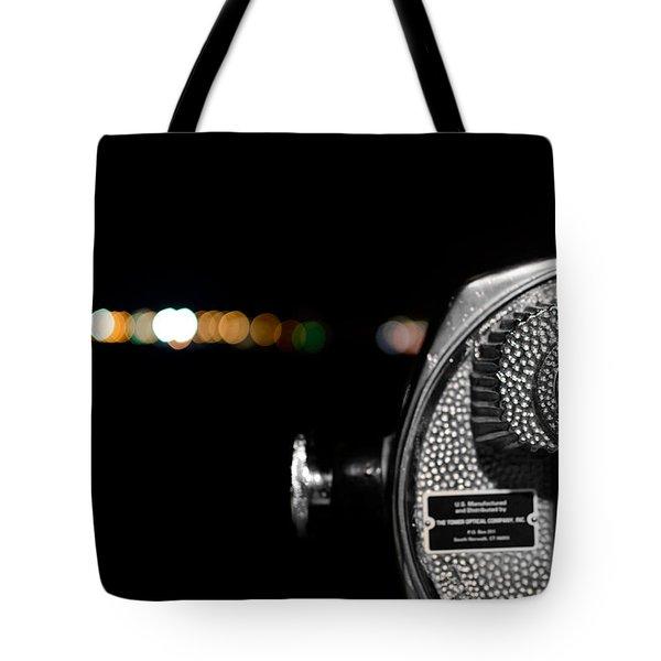 City Lights In Bokeh Tote Bag