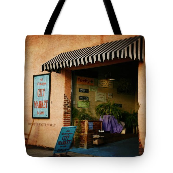 Tote Bag featuring the photograph City Market by Phil Mancuso