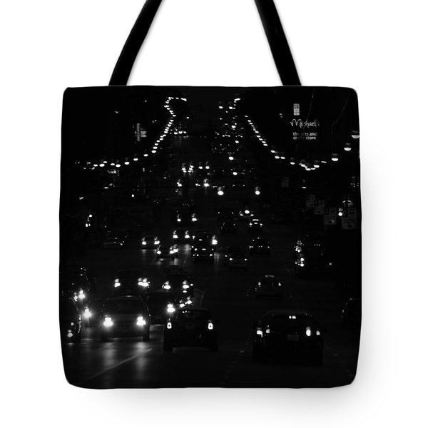 City Nights Tote Bag by Empty Wall