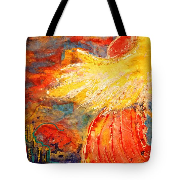 City Of An Angel Tote Bag