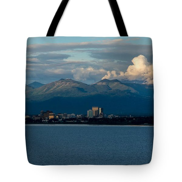 City Of Anchorage  Tote Bag
