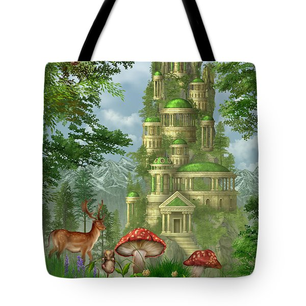 City Of Coins Tote Bag by Ciro Marchetti