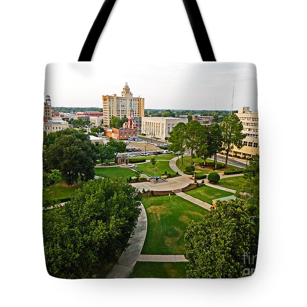 Tote Bag featuring the photograph City Of Monroe by Ester  Rogers