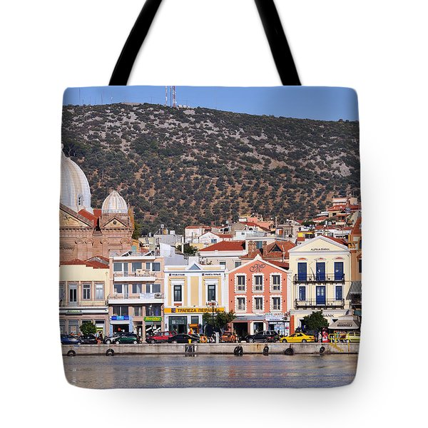 City Of Mytilini Tote Bag