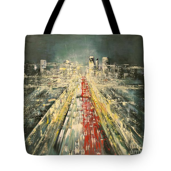 City Of Paris Tote Bag