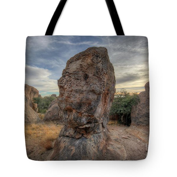 Tote Bag featuring the photograph City Of Rocks by Martin Konopacki