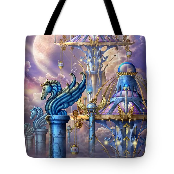 City Of Swords Tote Bag by Ciro Marchetti