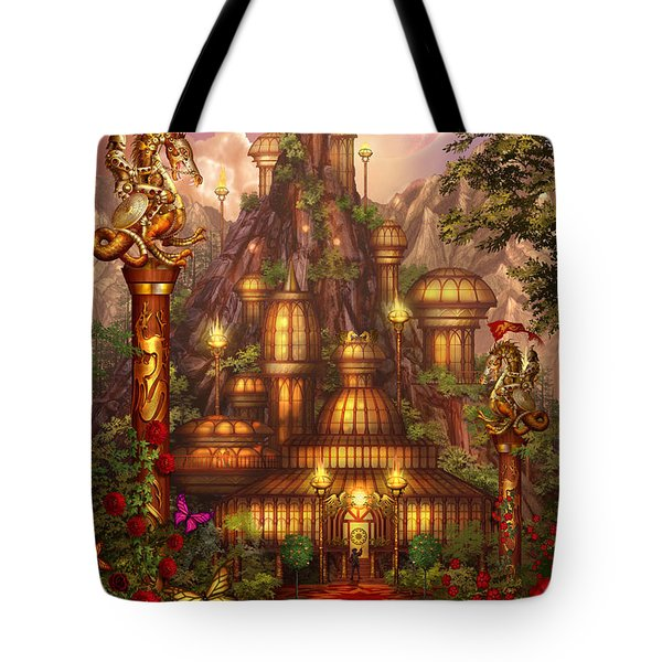 City Of Wands Tote Bag by Ciro Marchetti