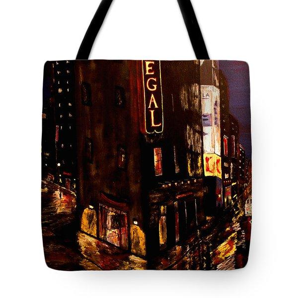 City Rain 2 Tote Bag by Mark Moore