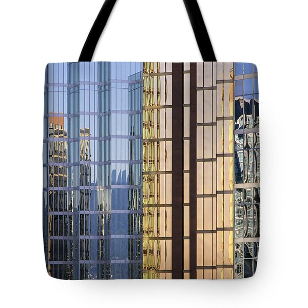 City Reflections Tote Bag by Sandra Bronstein