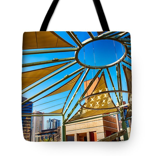 City Shapes Tote Bag