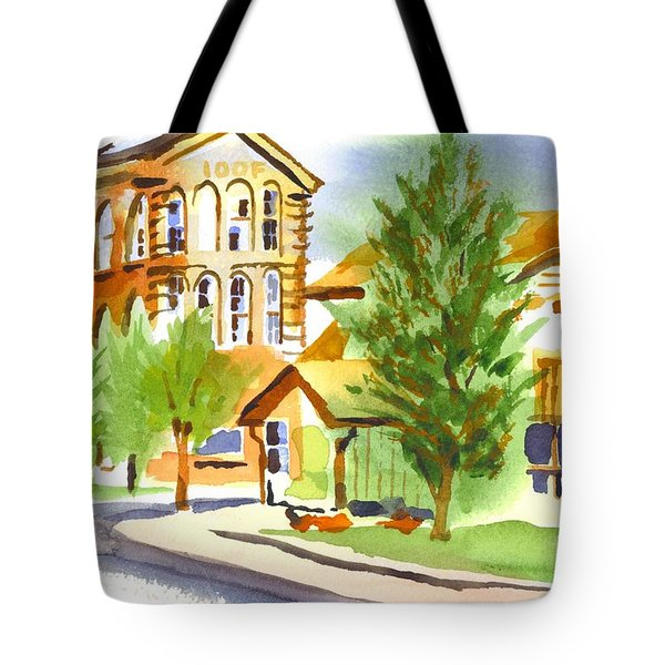 City Streets Tote Bag by Kip DeVore