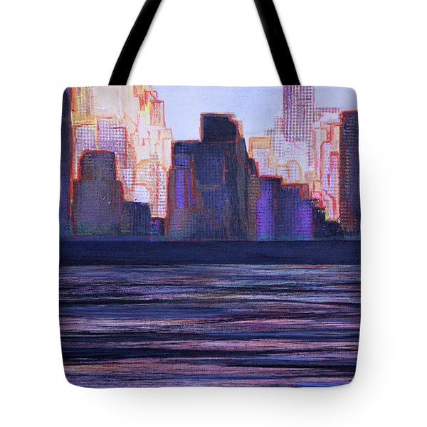 City Sunset Tote Bag