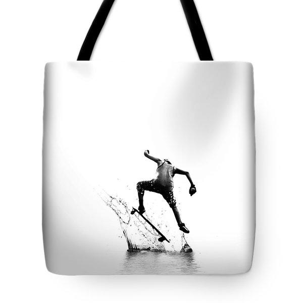 City Surfer Tote Bag