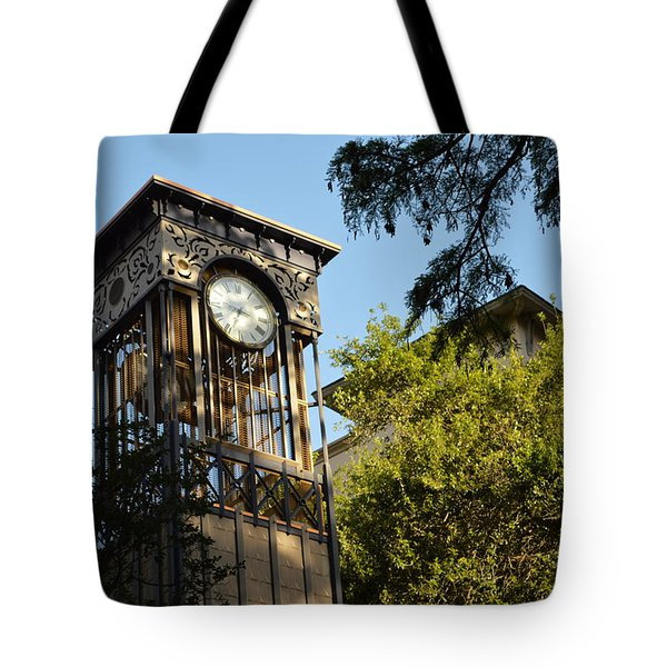 City Time  Tote Bag