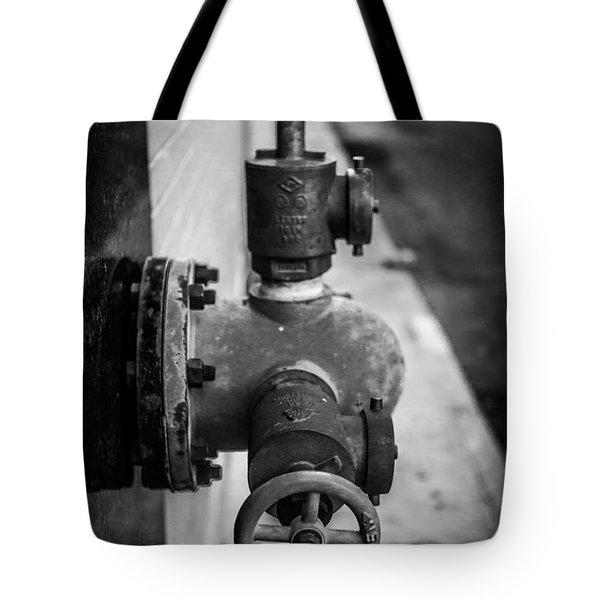 City Valves Tote Bag