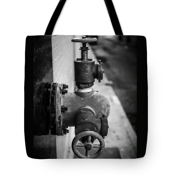City Valves Tote Bag