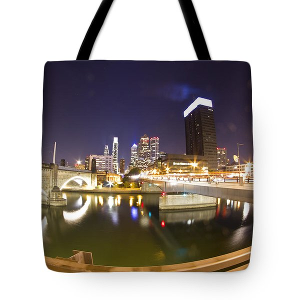 City's Reflection Tote Bag