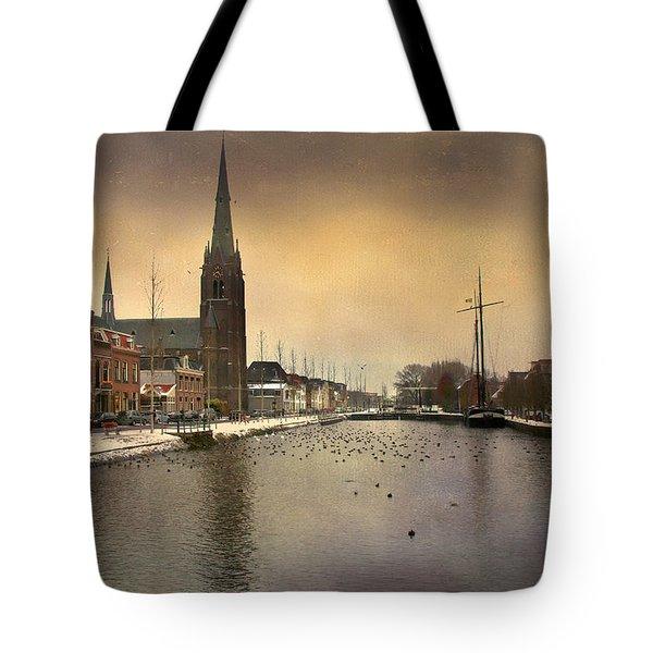 Cityscape Tote Bag by Annie Snel