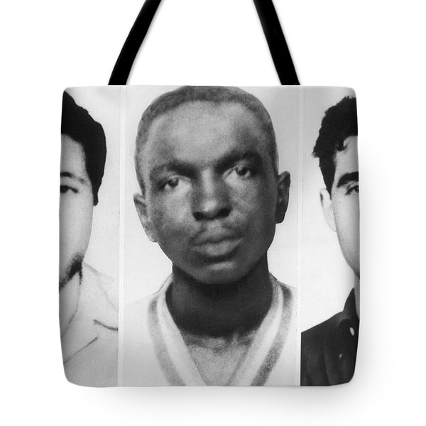 Civil Rights Workers Murdered Tote Bag